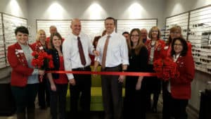 wyovision of gillette ribbon cutting