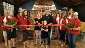 Dickys bbq ribbon cutting
