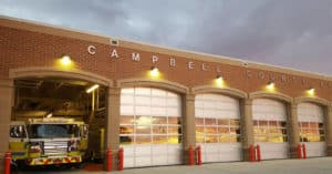 ccfd fire truck and station | campbell county chamber of commerce
