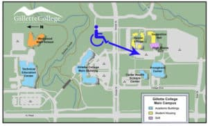 gillette college campus map | campbell county chamber of commerce