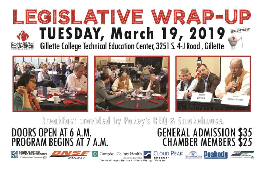 legislative wrap up flyer | campbell county chamber of commerce