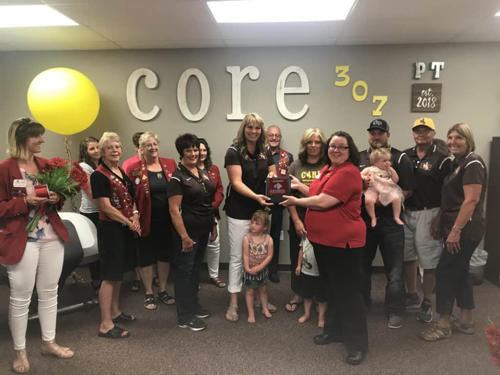 core 307 ribbon cutting