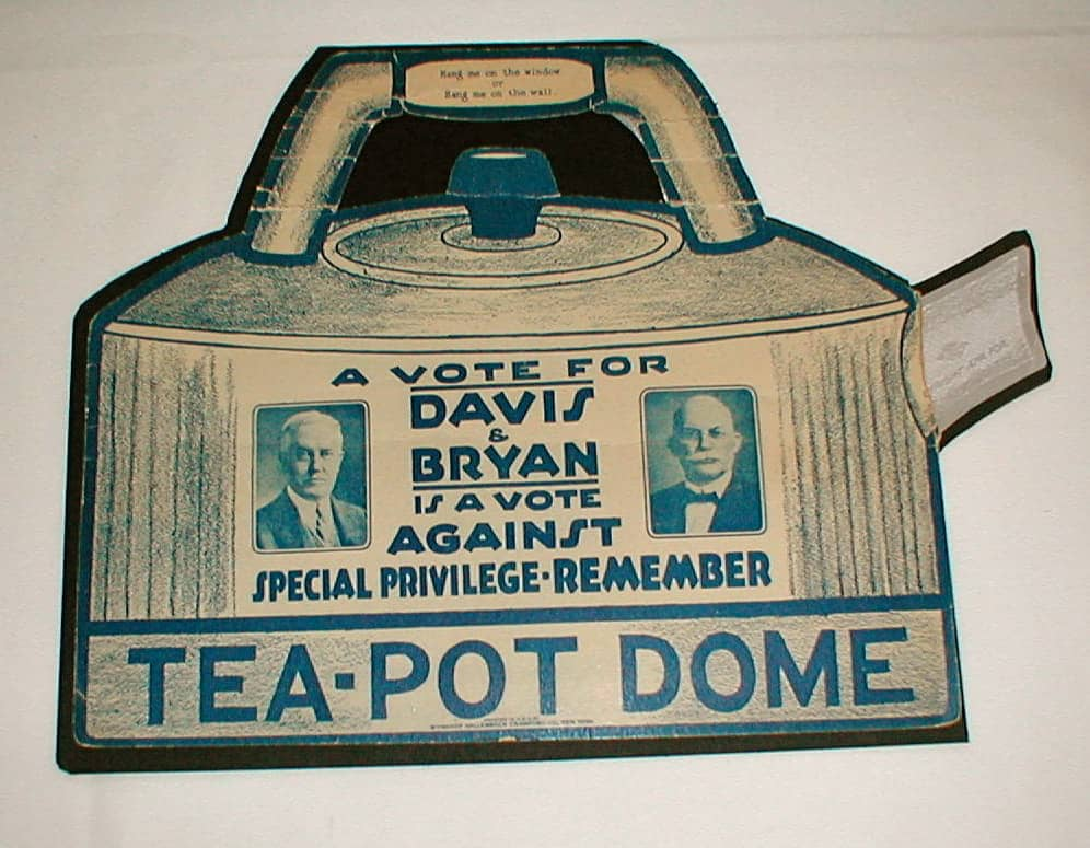 teapot dome poster