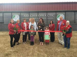 advanced orthopedic and chiropractic ribbon cutting