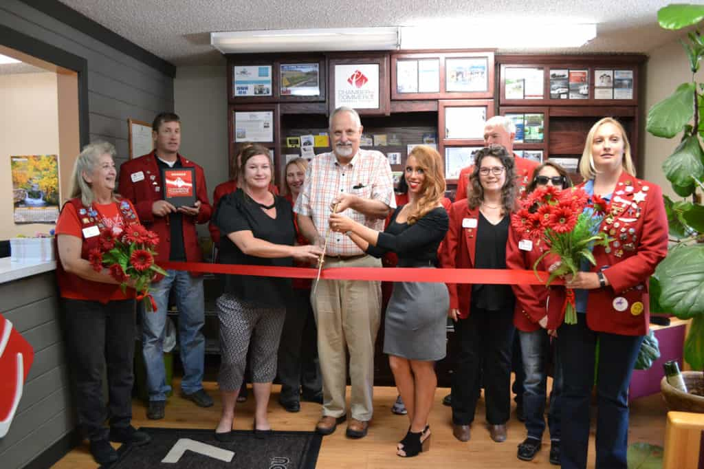 bruce brown ribbon cutting