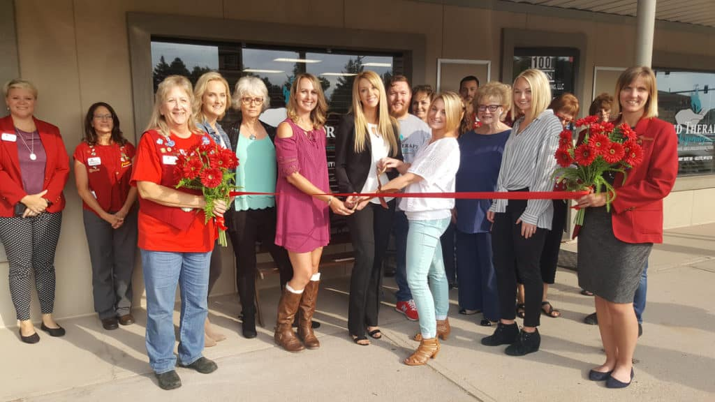 Physical Therapy of Wyoming ribbon cutting