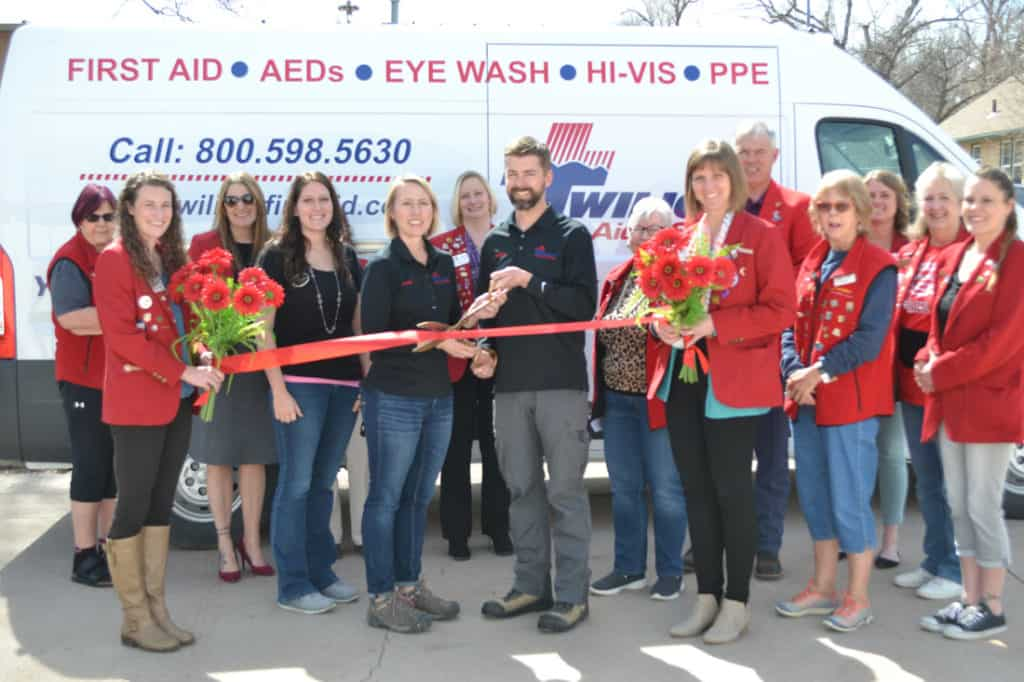 twilight first aid ribbon cutting