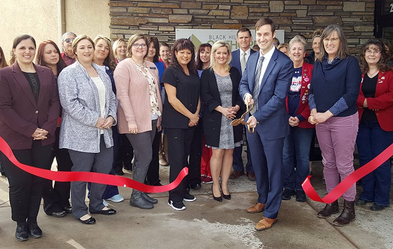 black hills urgent care ribbon cutting | Gillette chamber